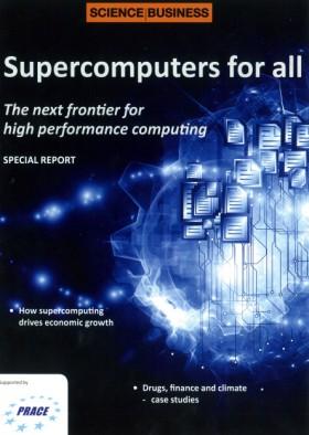 ◆ '대중을 위한 슈퍼컴퓨터(Supercomputer for All)'를 표방한 PRACE의 홍보물 - PRACE 제공
